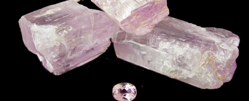 Ροζ Κουνζίτης (Pink Kunzite)